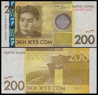 Kyrgyzstan - 200 Som 2016 / 2017 UNC P. 27 Lemberg-Zp - Kyrgyzstan