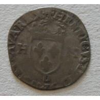 ROYALE LYON - Henri IV, Douzain Aux 2 H 1595 - 987-1789 Monete Reali