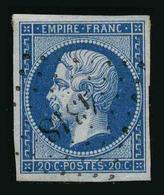 FRANCE - YT 14B - SECOND EMPIRE NAPOLEON III - TIMBRE OBLITERE - PC 4318 - 1853-1860 Napoléon III