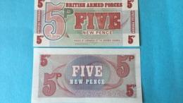 Billet British Armed Forces 5 Pound - Reino Unido