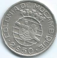 Mozambique - Portuguese - 1951 -  2½ Escudos - KM68 - Mozambique