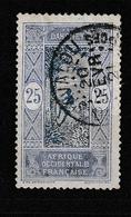 DAHOMEY YT 50 Oblitéré SAVALOU 20 Fevrier 1921 - Dahomey (1899-1944)
