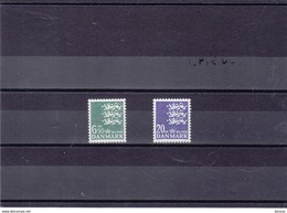 DANEMARK 1986 Série Courante Yvert 856-857 NEUF** MNH - Danemark