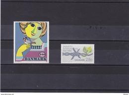 DANEMARK 1986 Yvert 858-859 NEUF** MNH - Danemark
