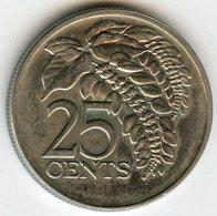 Trinité & Tobago Trinidad 25 Cents 1975 KM 28 - Trinité & Tobago