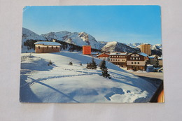 Sestriere - Chiesetta Regina Pacis - Sullo Sfondo Le Vette Francesi 1977 2 Stamps - Autres Villes