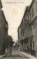 Philippeville   Rue Galbois - Algérie