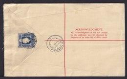 1953 - 30 C. Einschreib Gnzsache Mit Zufrankatur Als Luftpost-Einschreiben Ab Hongkong Nach Deutschland - Lettres & Documents