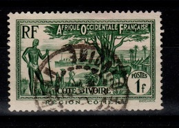 Cote D'Ivoire YV 124 Oblitéré Cote 3,20 Euros - Used Stamps