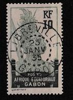 GABON YT 83 Oblitéré LIBREVILLE 23 Janvier 1935 - Usados