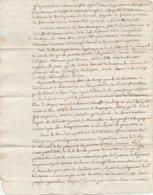 CANTAL-LUSSAUD-CESSION ENTRE FAMILLE BOULOGNE ET JEANNE MARANNE-VOIR SCAN- - Manuscripten