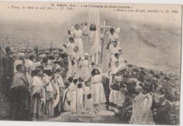 Rieux-Volvestre (31) CPA - Rieux 1914, Le Triomphe Du Divin Crucifié Drame Sacré, Tableau Religieux, Déguisement, SISTAC - France