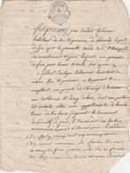 CANTAL-LUSSAUD-VENTE-ENTRE JEAN COUDERT ET GABRILE BOULOGNE-VOIR SCANNER - Manuscripten