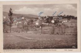 Saint SULPICE LAURIERE (87) CPA - Vue Générale Du Bourg, Les écoles - Other Municipalities