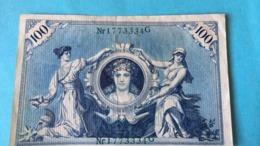 Billet Allemand 100 Mark - 1908 - [ 2] 1871-1918 : German Empire