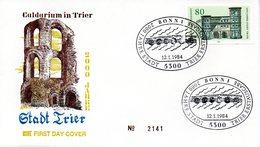 """BRD Schmuck-FDC """"2000 Jahre Stadt Trier"""" Mi. 1197 ESSt 12.1.1984 BONN 1 - FDC: Sobres"""