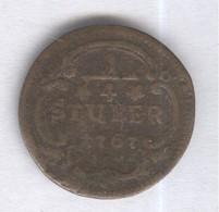 1/4 Stuber Allemagne - Evéché De Cologne 1767 - Sin Clasificación