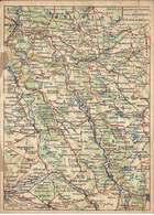 FRANCHISE MILITAIRE - Correspondance Des Armées  /  Carte Double /  LES CARTES  DU  FRONT -  Argonne  Et  Côtes De Meuse - FM-Karten (Militärpost)