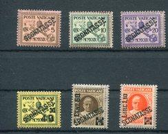 Vaticano (1931) - Segnatasse Sass.1/6 ** - Postage Due