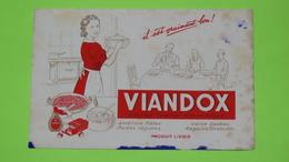 Buvard - VIANDOX LIEBIG - Etat D'usage : Voir Photos - 21x13.5 Environ - Année 1950 / 26 - Soups & Sauces