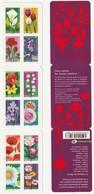 France Frankreich 2012 Yvert BC662 **, Michel Markenheftchen 5272-83 ** Postfrisch, Selbstklebend, Blumen Fleurs - France