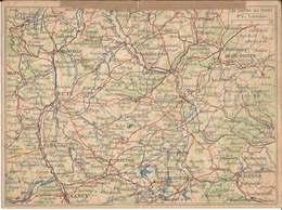 FRANCHISE  MILITAIRE  -  Correspondance  Des  Armées  /  Carte  Double  /  LES  CARTES  DU  FRONT -  LORRAINE - FM-Karten (Militärpost)