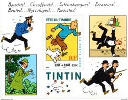 France.bloc No 28 De 2000.tintin.n**. - Ongebruikt