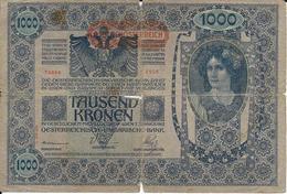Billet De 1000 Marks Autriche Hongrie 02/01/1902 - Banknotes