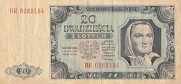 20 Zlotych 1948  Pologne - Poland
