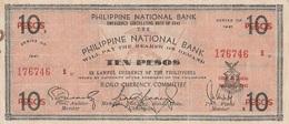10 Pesos Philippine 1941 - Philippines