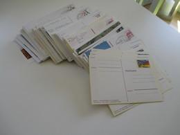 Ganzsachen Posten BRD 1970er Jahre - 2012 Ungebraucht U. O / SST Viele Sonderkarten / Bezug Philatelie Insgesamt 290 Stk - Collections (without Album)