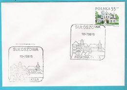 Poland 1998, Suloszowa, Castle Chateau PIESKOWA SKALA = Dog's Rock, Dog, Dogs , Chien, Hund,  Chiens, Perros - Honden