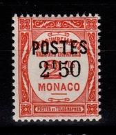 Monaco - YV 153 N* Cote 36 Euros - Nuovi