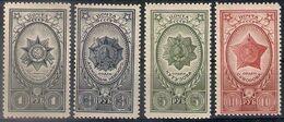Russia 1944, Michel Nr 905-08, MNH OG - Neufs
