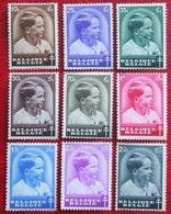 Prince Baudouin Complete Set 1936 1937 OBP 438-445 + 446 (Mi 434-441 + 442) Ongebruikt/ MH BELGIE BELGIUM - Unused Stamps