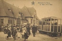 PHOTO  TRAM DE LA COTE KUST DE PANNE ADINKERKE REPRO - Tramways