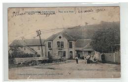 25 VILLARS SOUS DAMPIOUX PLACE DE LA POSTE EDIT GRUX - Other Municipalities