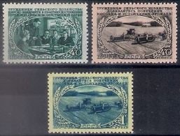 Russia 1950, Michel Nr 1470-72, MNH OG - 1923-1991 URSS