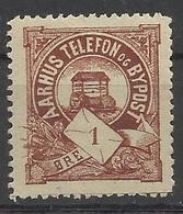DANEMARK DENMARK AARHUS BYPOST - Local Post Stamps