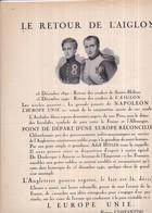 """Affichette Politique """"LE RETOUR DE L'AIGLON"""" - La Ligue Française - Napoléon - 25 X 33 Cm - Collaboration Attention - Affiches"""