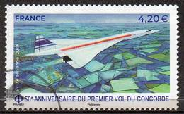 FRANCE 2019 50th Anniversary Of The First Flight Of Concorde - Oblitérés