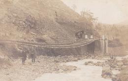 Carte-photo D'1 Pont Après Déraillement - Privas