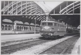 PH.  LOCO ELECT. BB 16673 En Gare (de TOURS?) - Trains