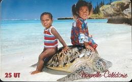NOUVELLE CALEDONIE -  Phonecard  -  Enfants/Tortue  -  NC 114  -  25 Unités - Nueva Caledonia