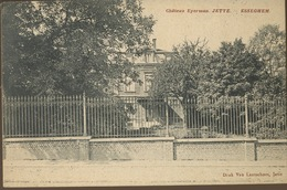 Chateau Eyerman  Circule En 1921 - Jette