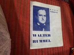 Walter Rummel Programme Gala Chopin Piano Pianiste  Dinard 1932 - Music & Instruments