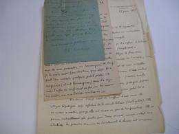 3 LETTRES AUTOGRAPHES SIGNEES DE PAUL-LOUIS COUCHOUD 1925-32 MEDECIN PHILOSOPHE INTIME ANATOLE FRANCE HAÏKU à J.P. OURY - Handtekening