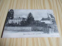 Eglise Et Château De Cézy (89) ,vus Du Pont. - Sonstige Gemeinden