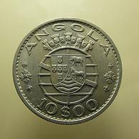 Portuguese Angola 10 Escudos 1969 - Portugal