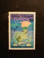 TIMBRE NEUF TUNISIE - LES EPONGES DE JERBA - GORGI - DJERBA TUNISIA - 50m.  - Sponge éponge Sponges - Tunisie (1956-...)